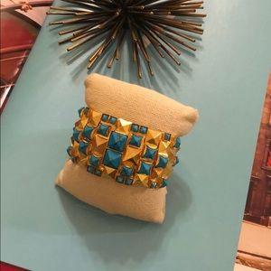 Sorrelli Turquoise Statement Cuff Bracelet